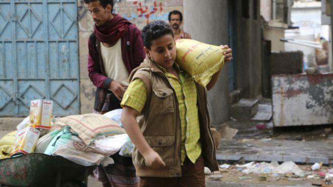 إغاثة أهل اليمن