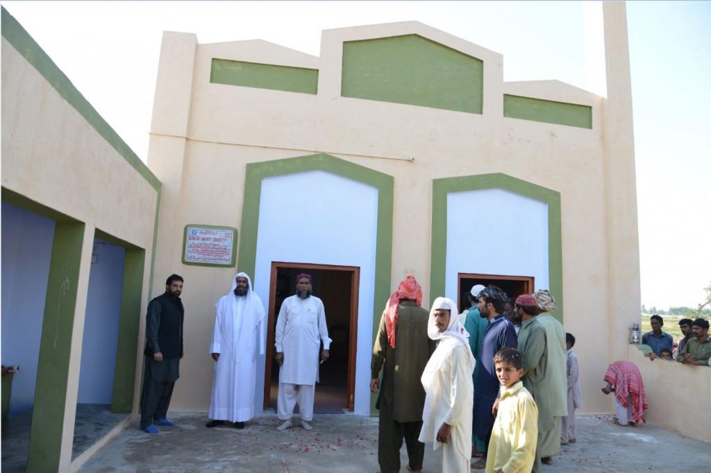 مسجد في باكستان - بناء مسجد في باكستان