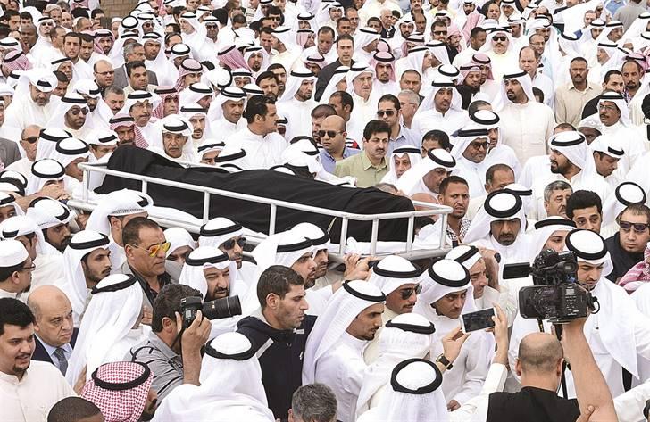جنازة الخرافي