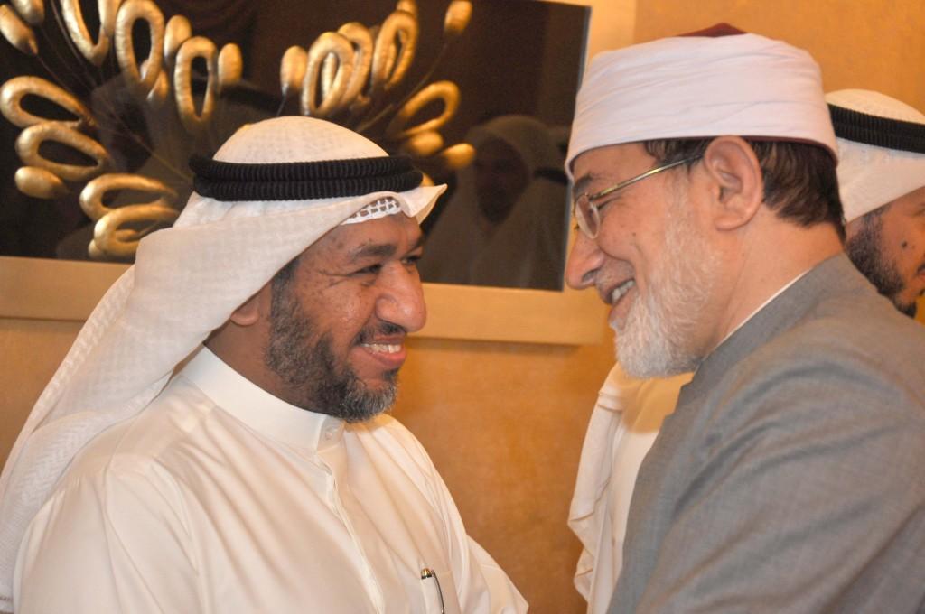 النجاة الخيرية تقيم غبقة رمضانية على شرف الشيخ أحمد المعصراوي