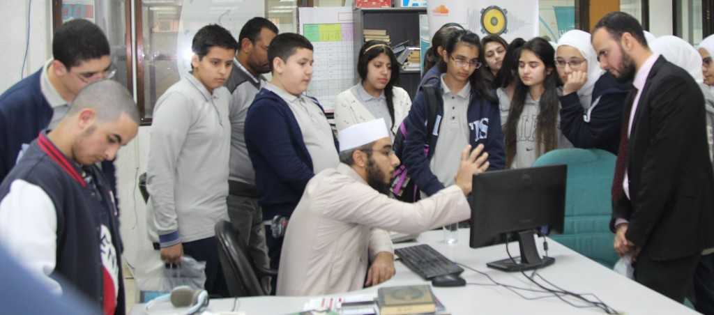 مدرسة التكامل بلجنة الدعوة الإلكترونية