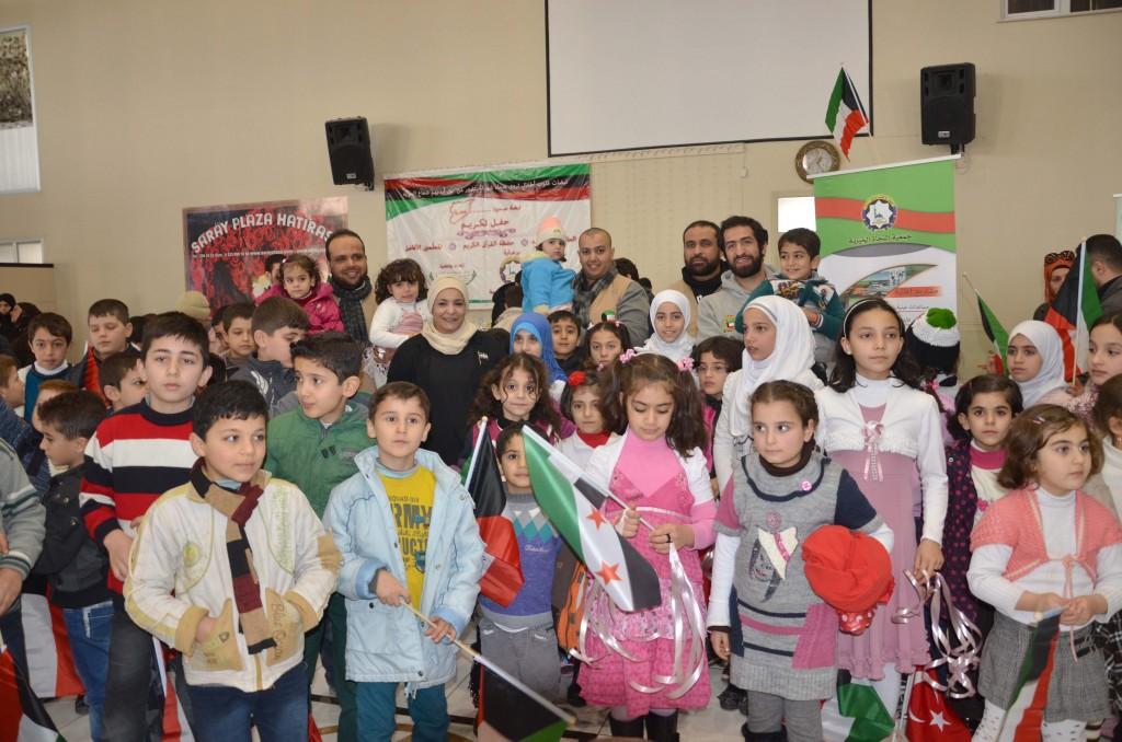 الأيتام السوريين