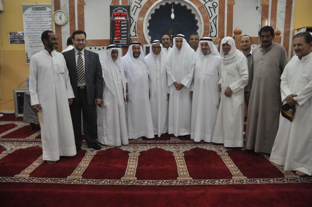 زكاة العثمان استهلت محاضراتها الرمضانية بلقاء الدكتور خالد المذكور