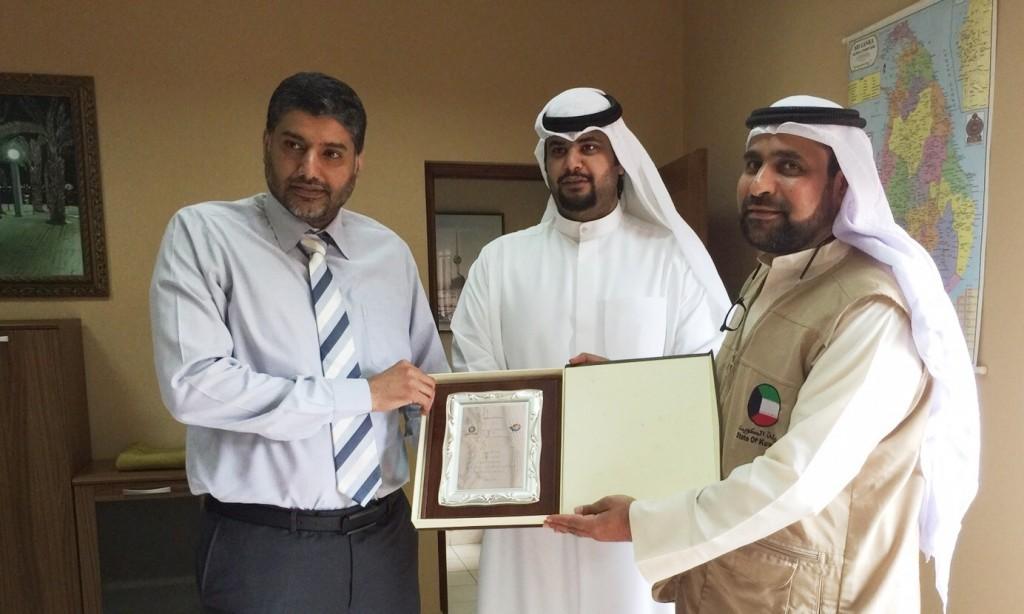 تكريم سفارة الكويت بسيريلانكا