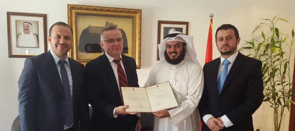 سفارة ألبانيا تكرم النجاة