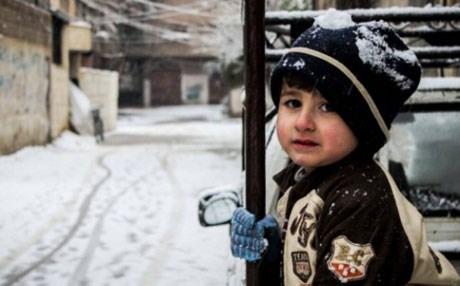 طفل سوري