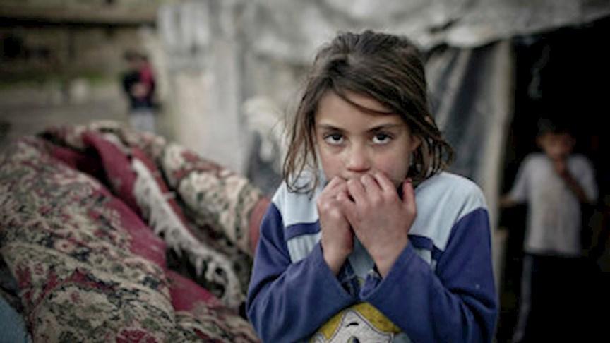 لاجئة سورية