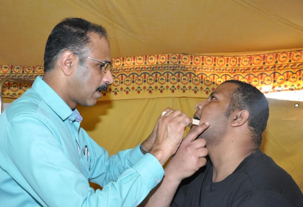 مخيم النجاة الطبي للعلاج بالمجان
