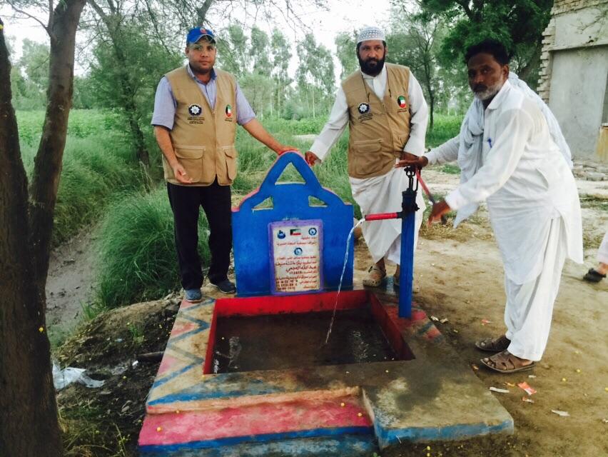 حفر آبار بباكستان