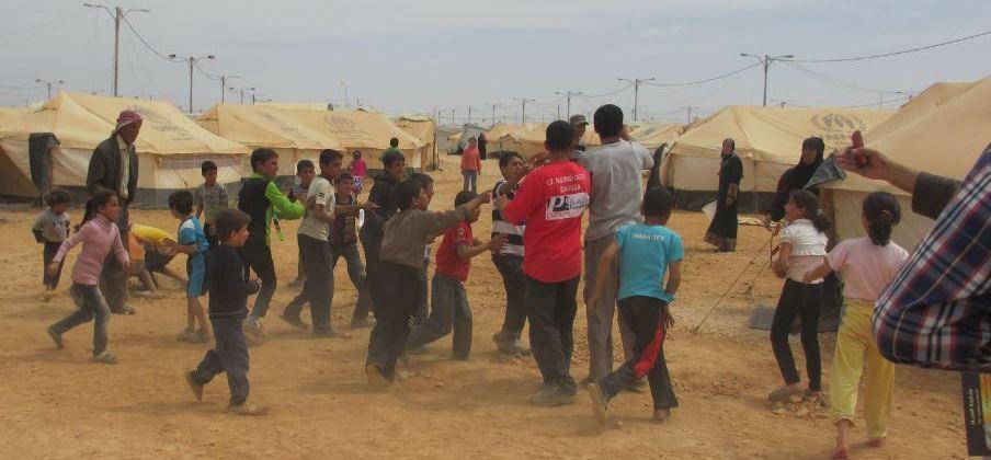 اللاجئي السوريين