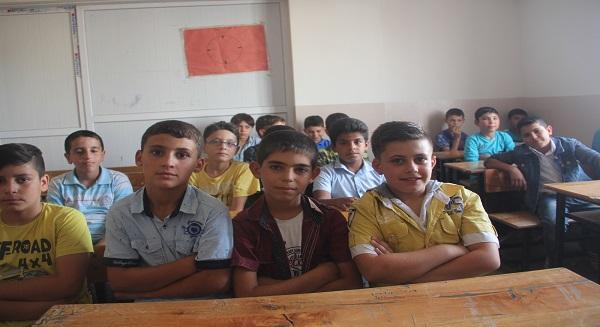 تعليم السوريين في تركيا