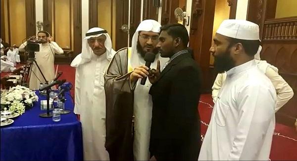 إشهار إسلام مسلم جديد في الكويت