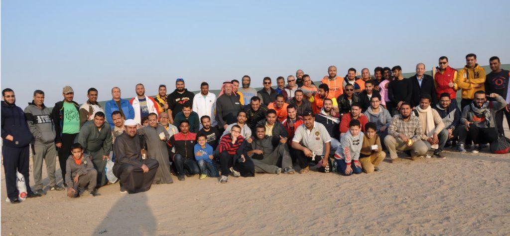 جمعية النجاة الخيرية رفهت عن موظفيها برحلة إلى مخيمات العبدلي