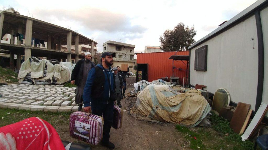 النجاة الخيرية: مساعدات للاجئين السوريين في لبنان تبرع من فاعل خير