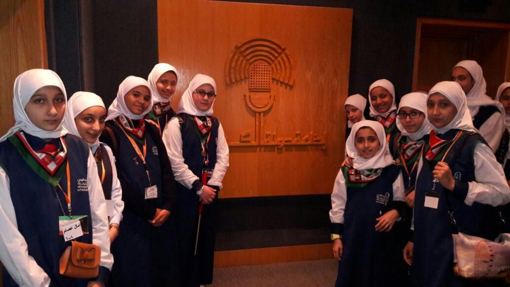 مدارس النجاة زارت وزارة الإعلام وحصدت المركز الأول في مسابقة الدستور