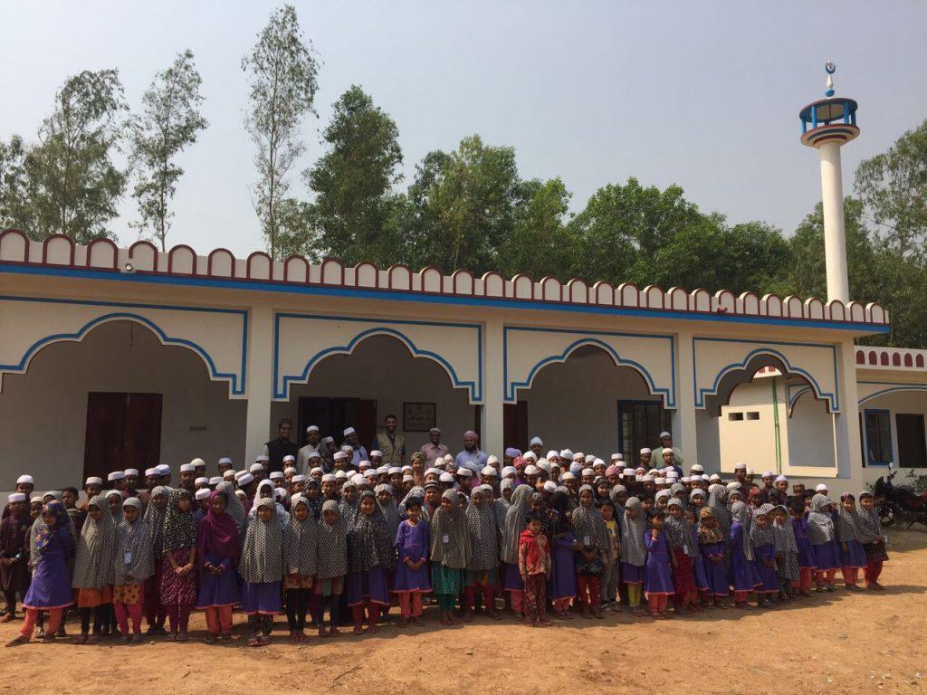 جمعية النجاة الخيرية افتتحت مركز العجيل الخيري ببنجلاديش