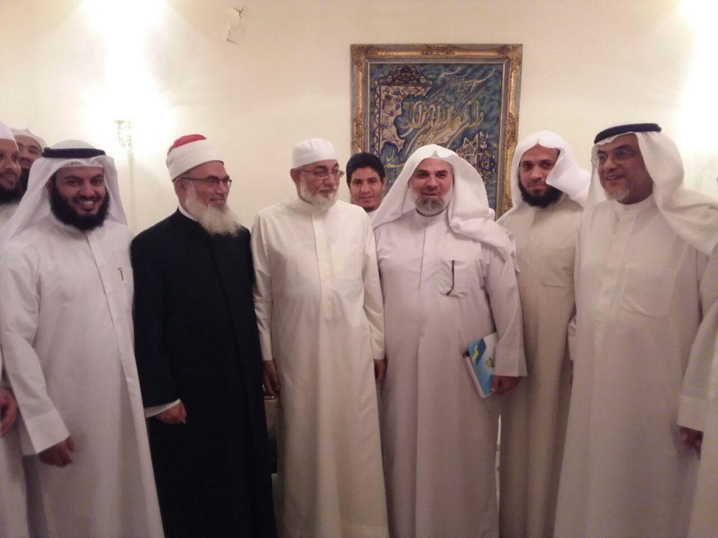 ديوانية ورتل بالنجاة الخيرية استضافت الدكتور المعصراوي