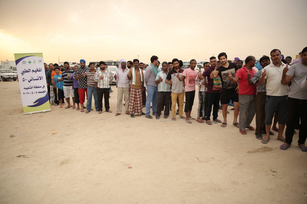 الرحمة الطبية: 300 مريض استفادوا من المخيم الطبي 50 بالشعيبة