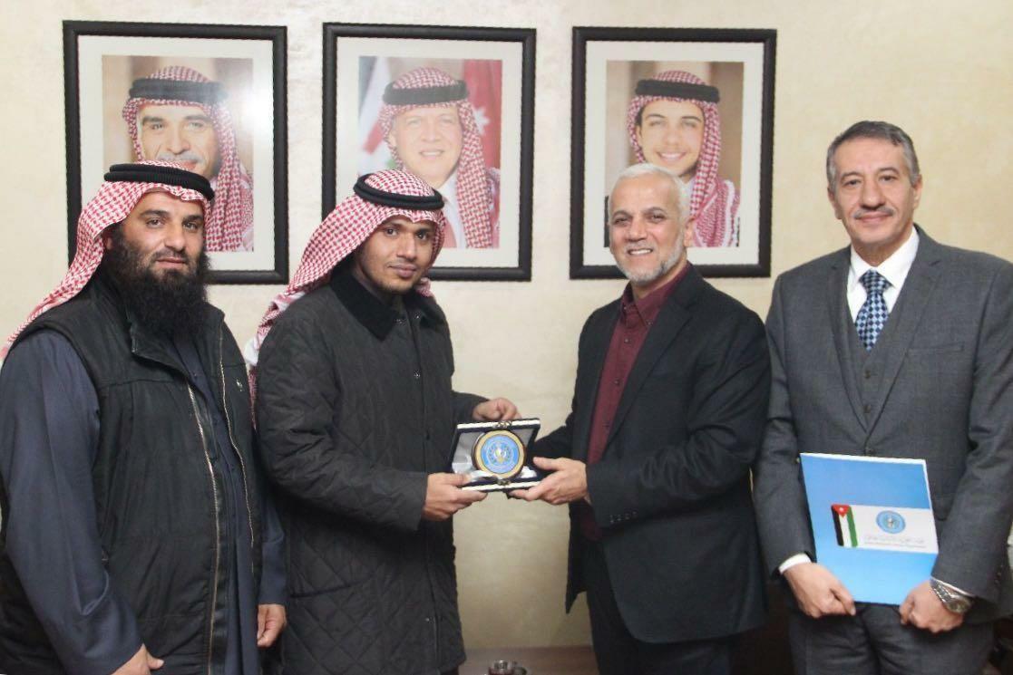 الهيئة الخيرية الأردنية تكرم جمعية النجاة الكويتية وتثمن جهودها الحثيثة في تخفيف آلام اللاجئين