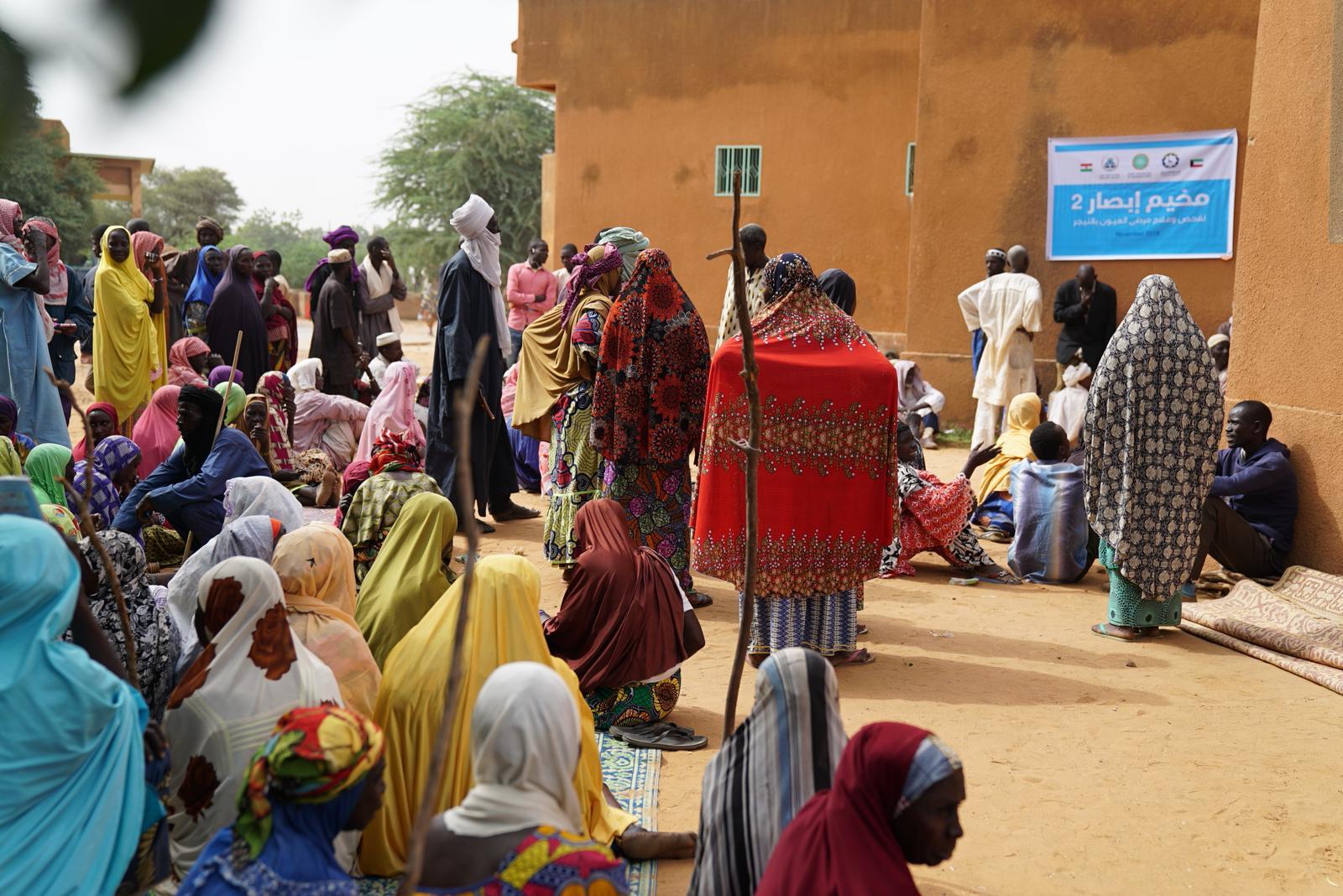 """""""النجاة الخيرية"""":حملتا (تخيل وإبصار) عالجت 500 مريض وافتتحت آباراً ارتوازية بالنيجر"""