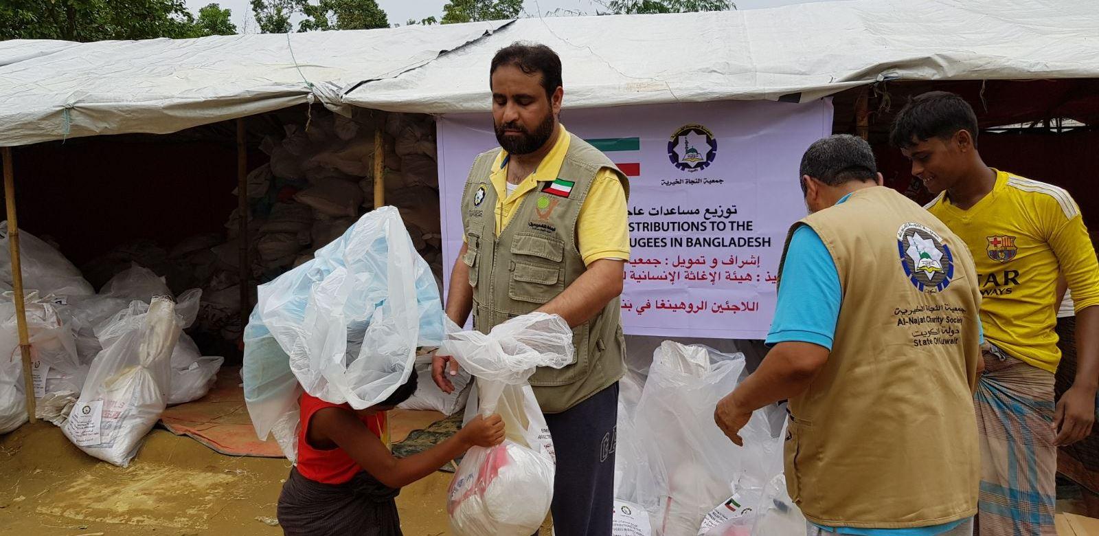 النجاة الخيرية : نفذنا مشاريع انسانية وتنموية مختلفة خارج الكويت عام 2018
