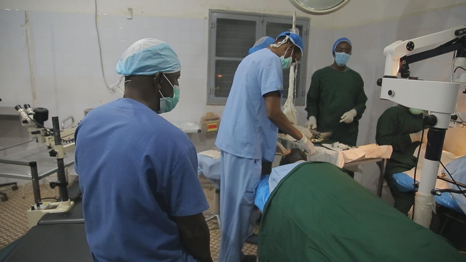 #النجاة_الخيرية نظمت المخيم الطبي الانساني الثالث لمكافحة العمى في تشاد