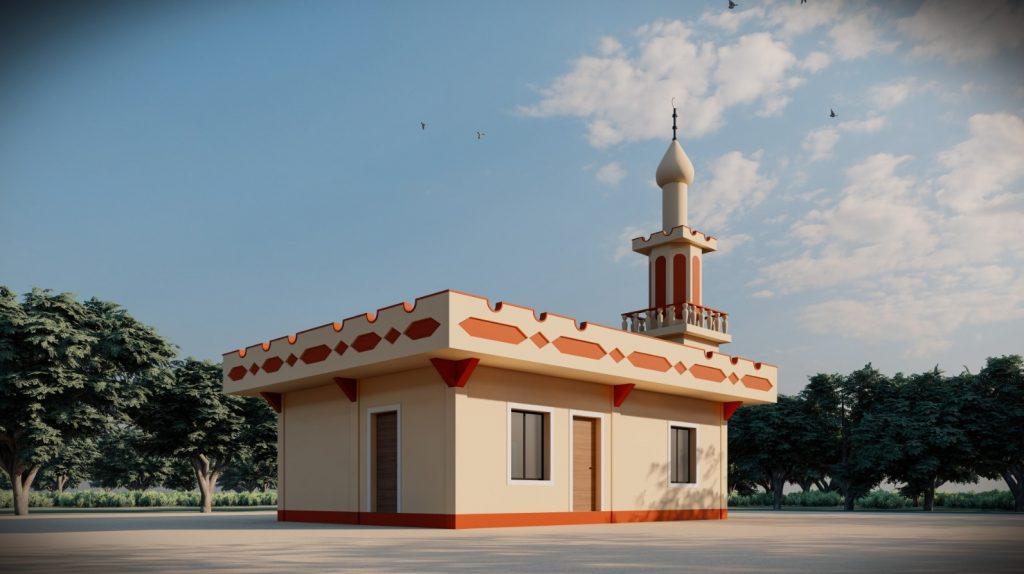 احدى مساجد جمعية النجاة في الفلبين
