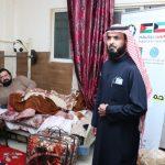 النجاة الخيرية .. توزيع المساعدات للمرضى حتى بيوتهم