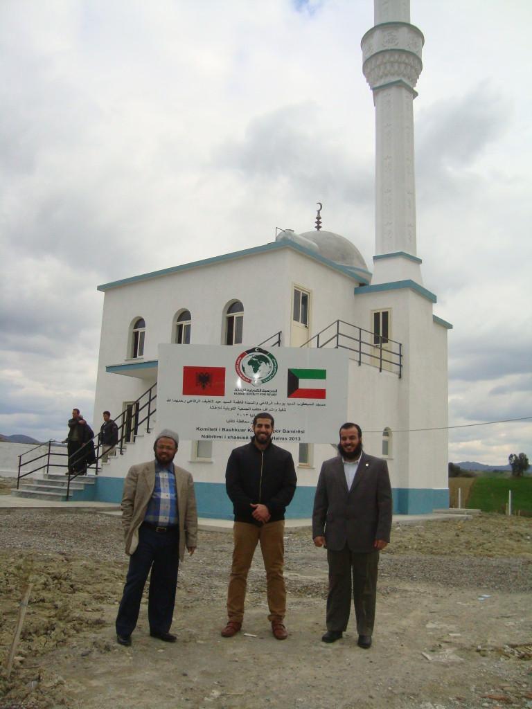 مشروع بناء المساجد
