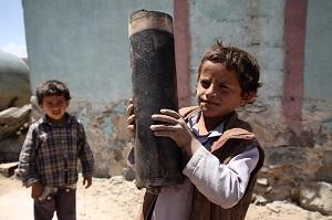 الأطفال والصراع في اليمن